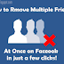How to Remove Facebook Friends in Mass
