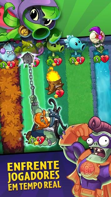 Baixar Plants vs. Zombies Heroes v 1.36.42 apk mod SOL INFINITO