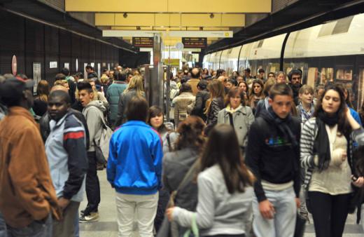 Metrovalencia desplazó en septiembre a 5,5 millones de viajeros en el conjunto de sus líneas