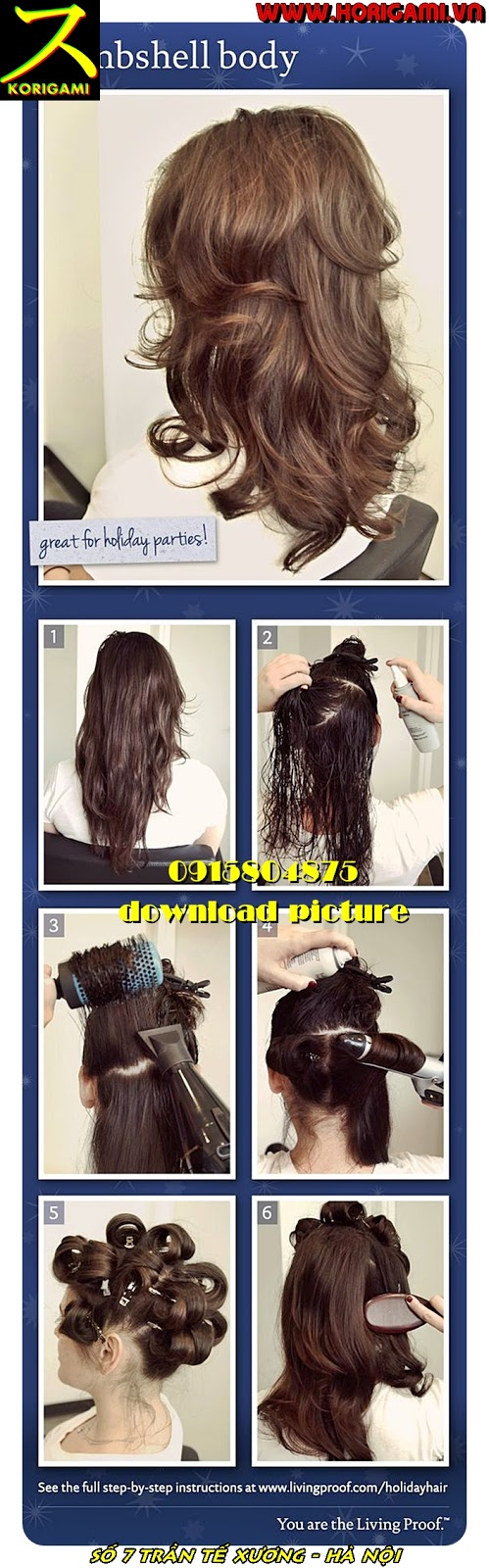 PERFECT BLOW OUT DRY WOMEN HAIR STYLES IN HANOI KORIGAMI SALON