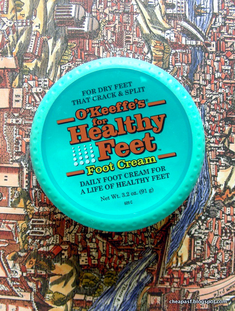 Best foot cream: O'Keeffe's Healthy Feet