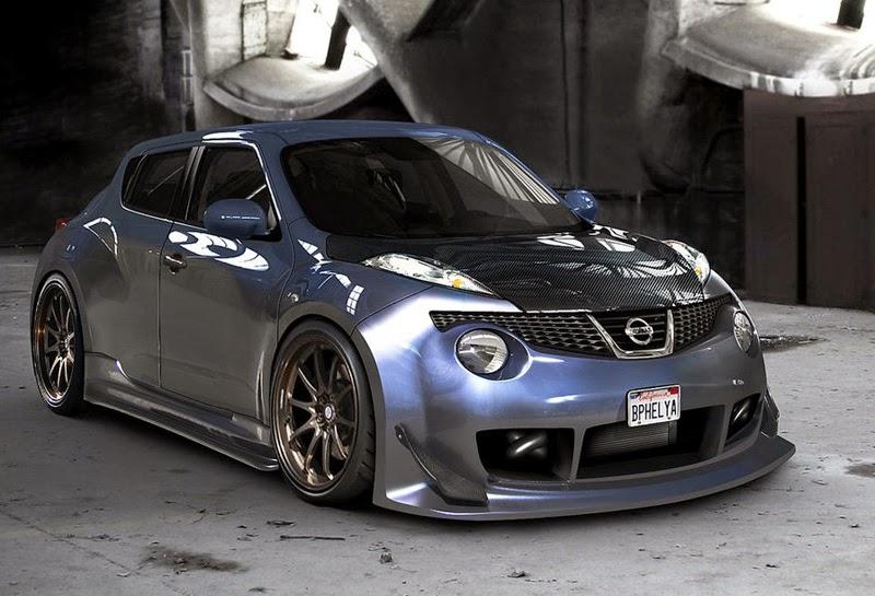 Galeri Foto Modifikasi Mobil Nissan Juke Keren Terbaru