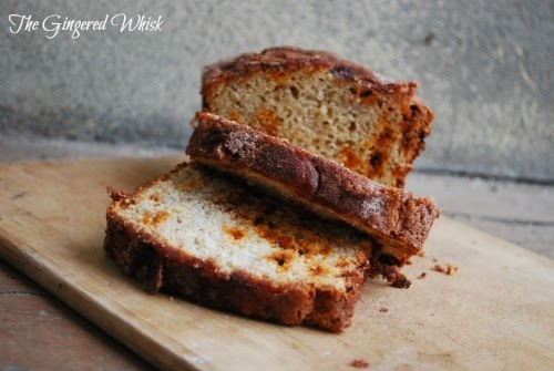 Snickerdoodle Banana Bread - The Gingered Whisk