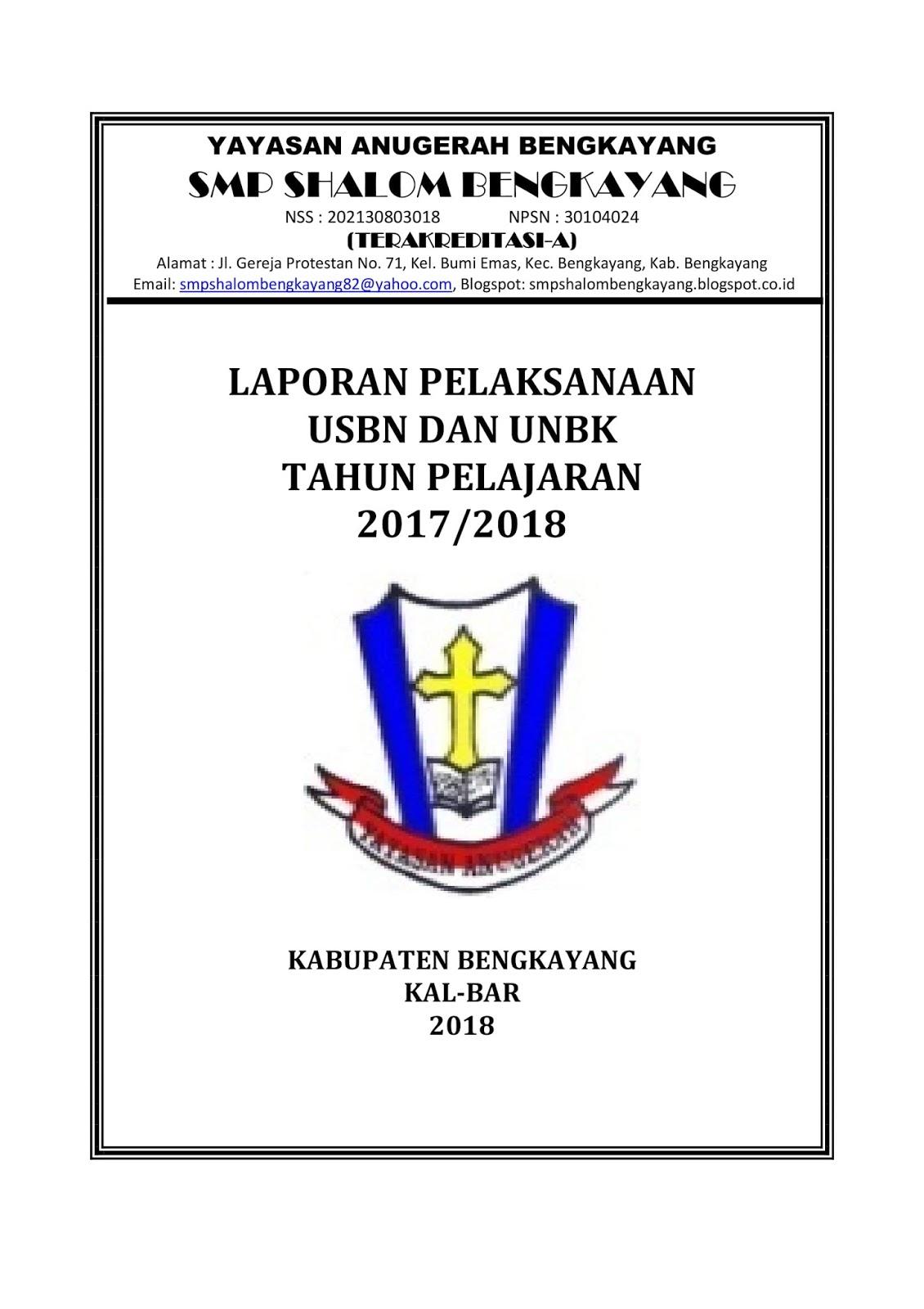 Contoh Laporan Kegiatan Ujian Sekolah Smp Kumpulan Contoh Laporan