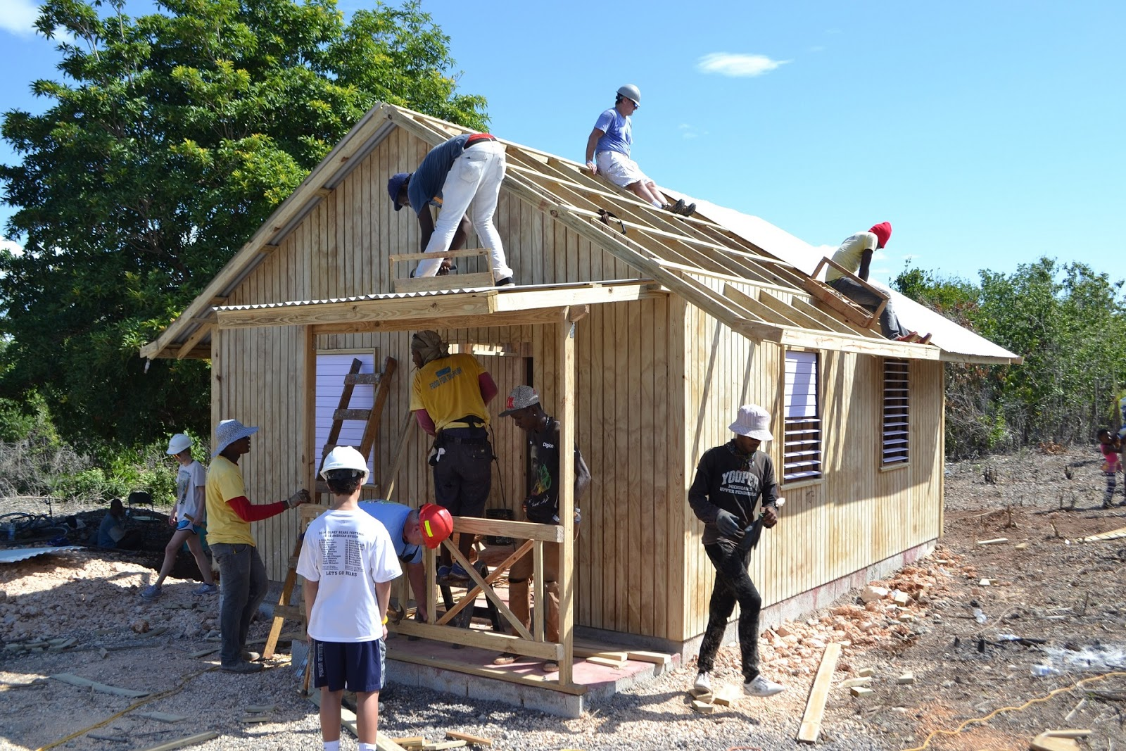 Organization Where Build Houses For Poor People