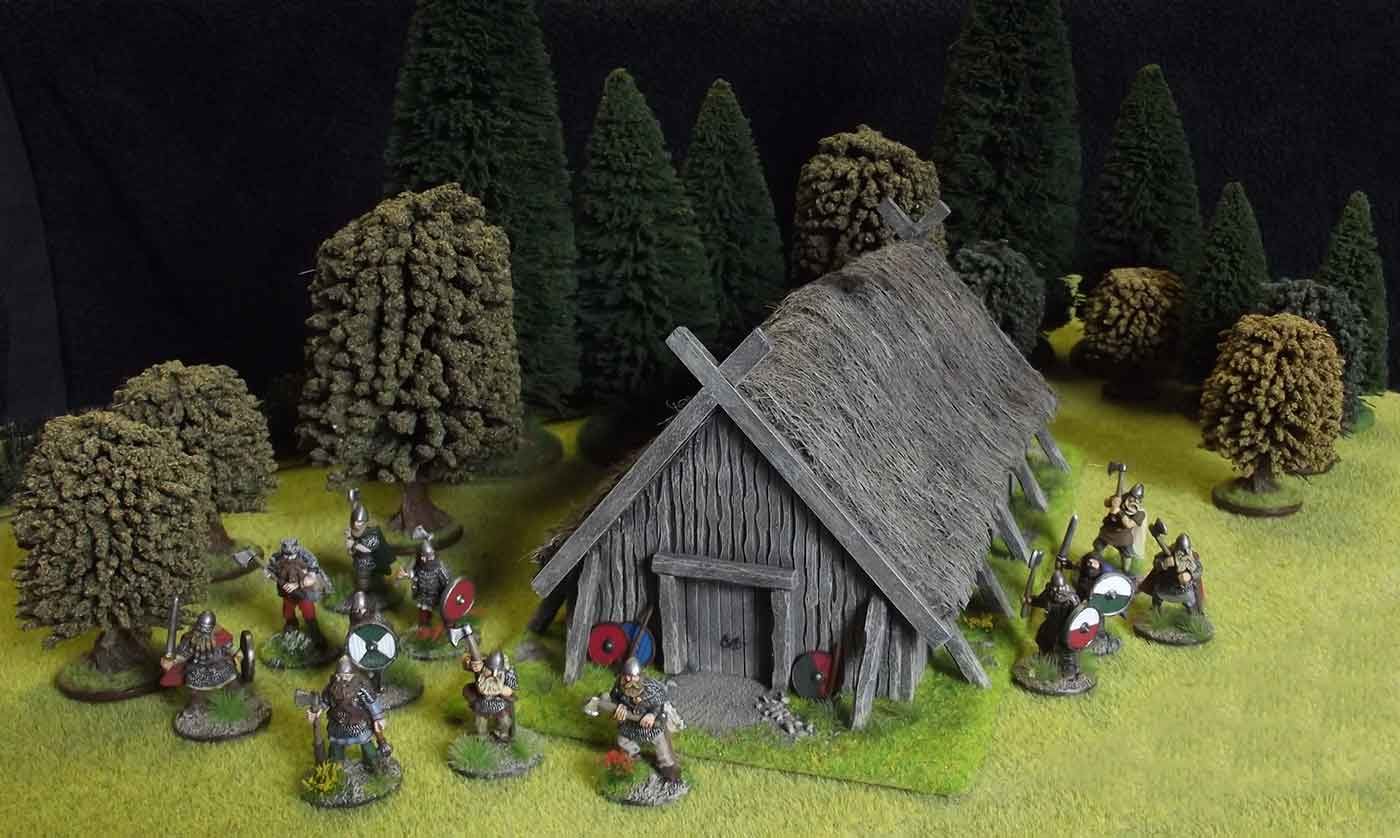 Rebel Barracks Viking Longhouse