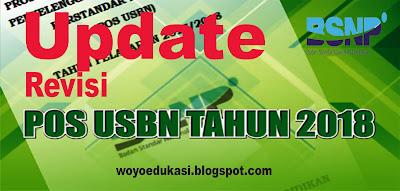 UPDATE -  POS UJIAN SEKOLAH BERSTRANDAR NASIONAL (USBN) 2017/2018