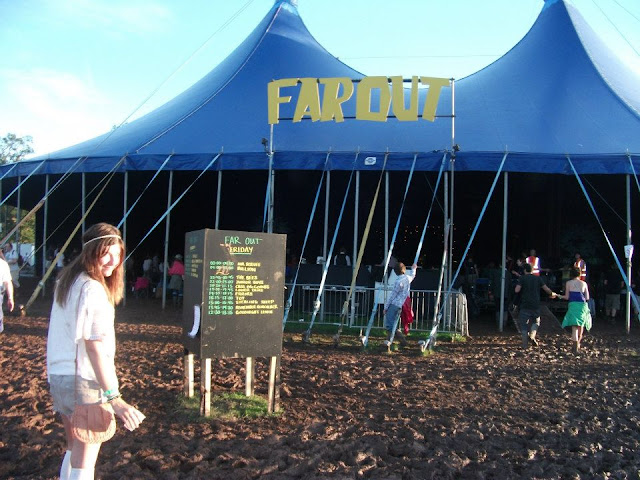 Green man, far out, festival, tent summer