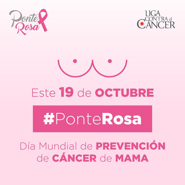 #PonteRosa y realízate un chequeo de mamá