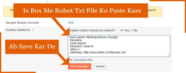 Blog-Me-Robot-Txt-File-Ko-Add-Kare