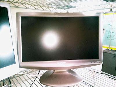 中古で購入したテレビ