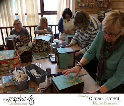 Voyage Beneath the Sea workshop with Clare Charvill Graphic 45