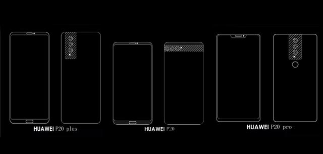 huawei-p20-plus-p20-p20-pro-designs-leaked