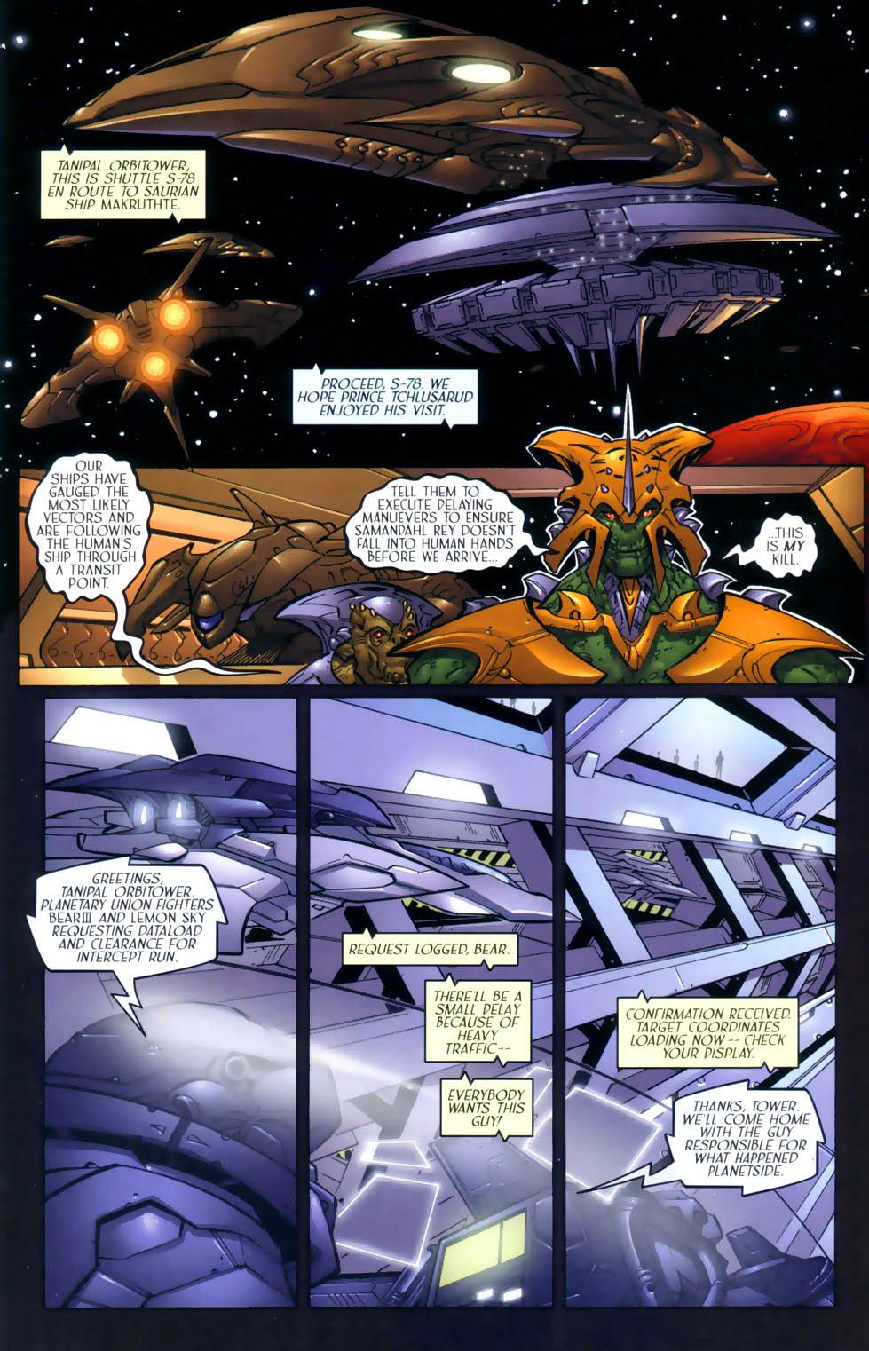 Read online Sigil (2000) comic -  Issue #2 - 15
