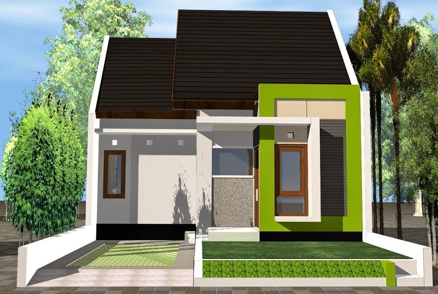 rumah kecil minimalis 1 lantai