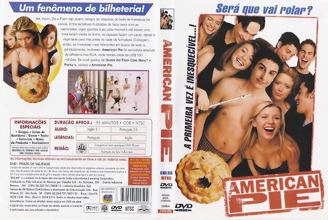Capa DVD American Pie