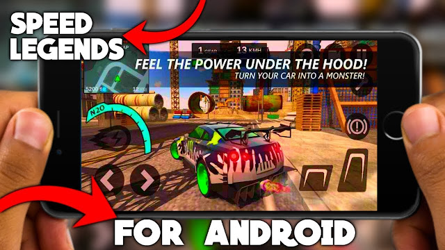 Download Speed Legends MOD APK Unlimited Money Open World Racer Game