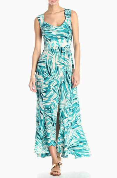4987ac99c9e Lovely Clusters Boutique  Tracy Reese Women s Silk Floral-Print Maxi ...