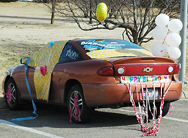 Classic Car Birthday Decorations