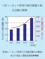 ここ5年以上、販売個数、販売金額共に増加し続けています。