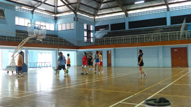 Petunjuk Jalan Ke Gedung GOR Basket Indoor Seskoal Venue