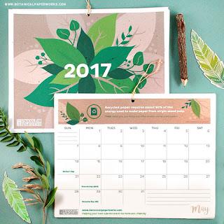 2017 free printalbe calendar