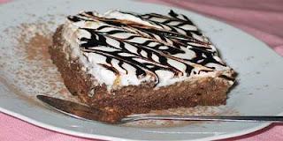 Torta de chocolate tres leches