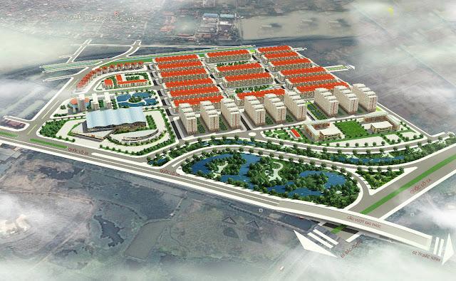 Phối cảnh tổng thể Dự án Him Lam Bắc Ninh
