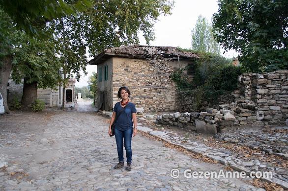 Stratonikeia antik kentini gezerken, Yatağan Muğla