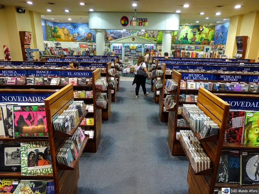 Buenos Aires (argentina) - livraria El Ateneo