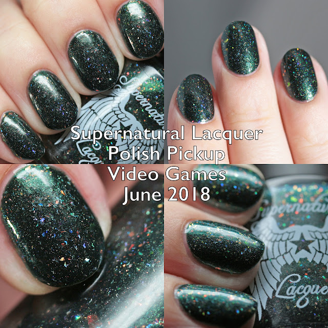 Supernatural Lacquer Polish Pickup Video Games June 2018