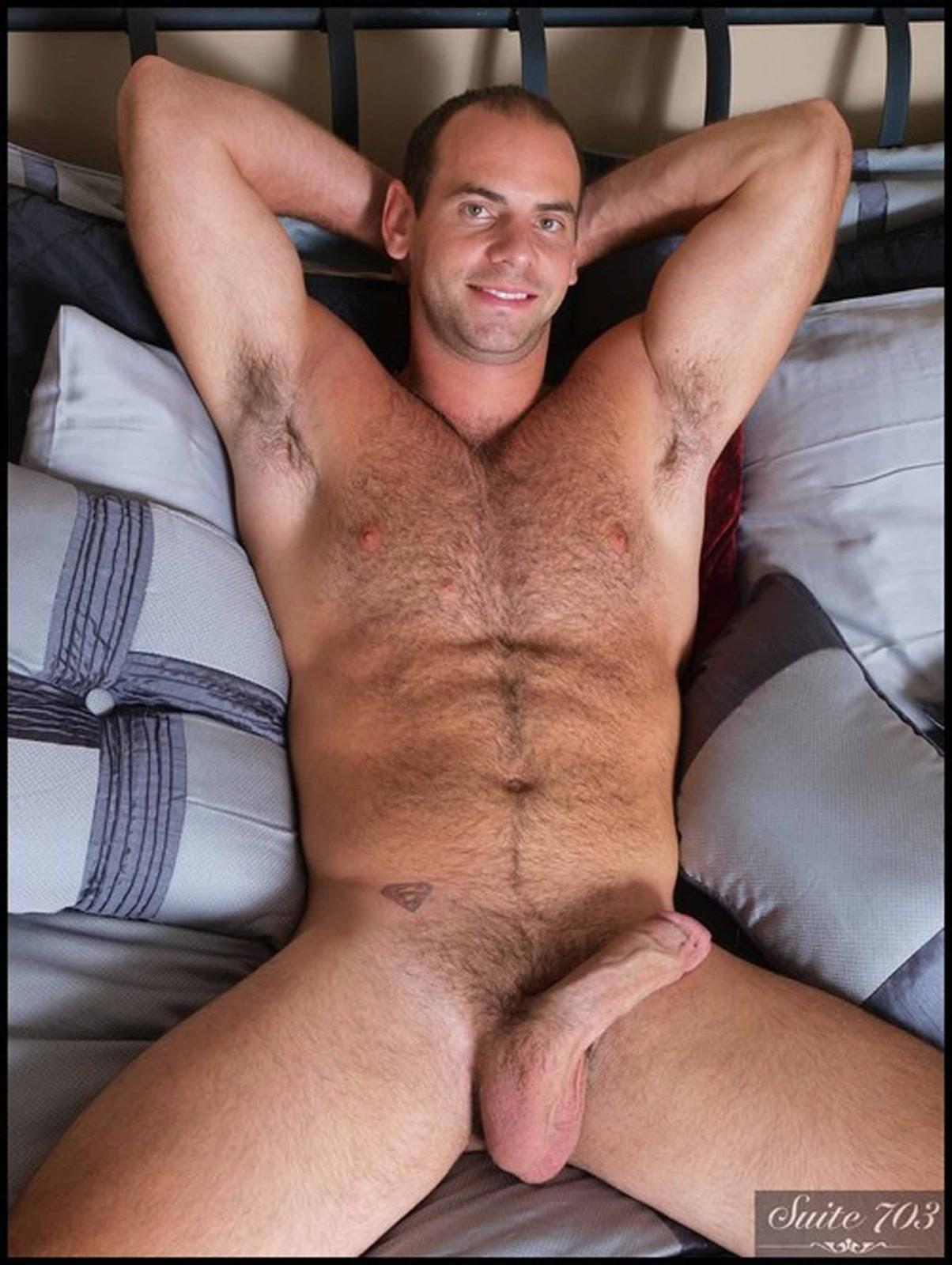 Gay man leather bondage