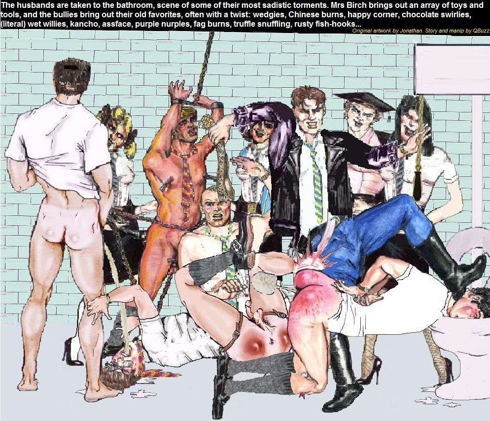 strip porn bully