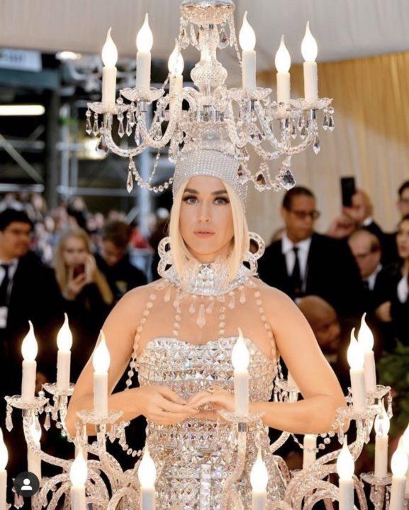 Katy Perry's Met Gala look turned into a meme