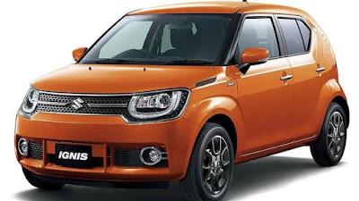 New 2016 Maruti Suzuki Ignis orange image