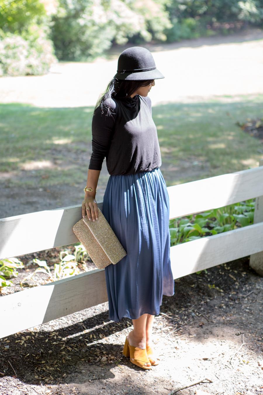 Fall Fashion with Ann Taylor Loft Dress