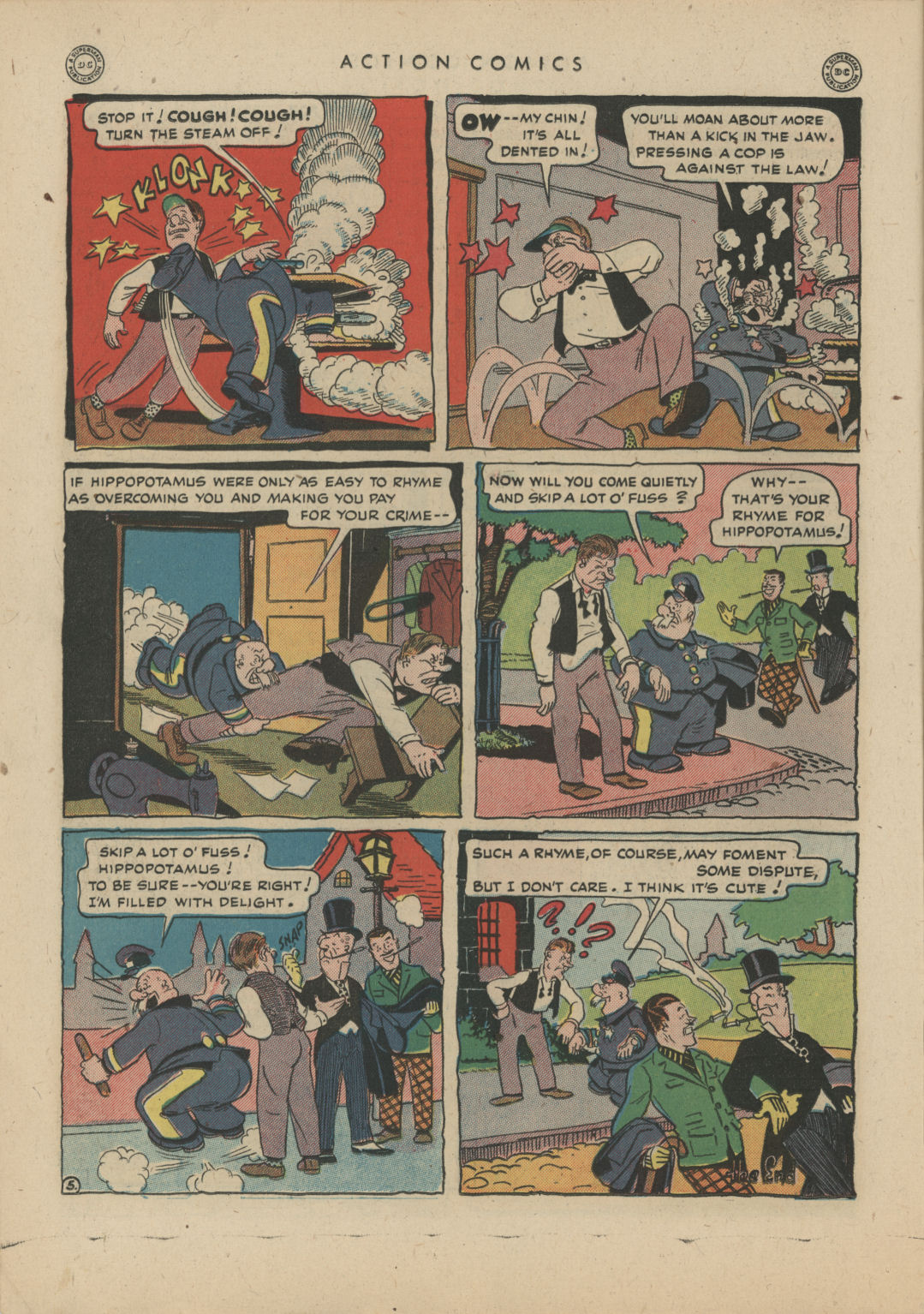 Read online Action Comics (1938) comic -  Issue #83 - 20