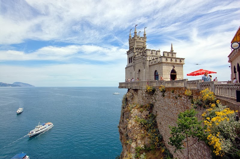 The Swallow's Nest, Crimea Peninsula, Ukraine - Top 20 Spots to See in Europe