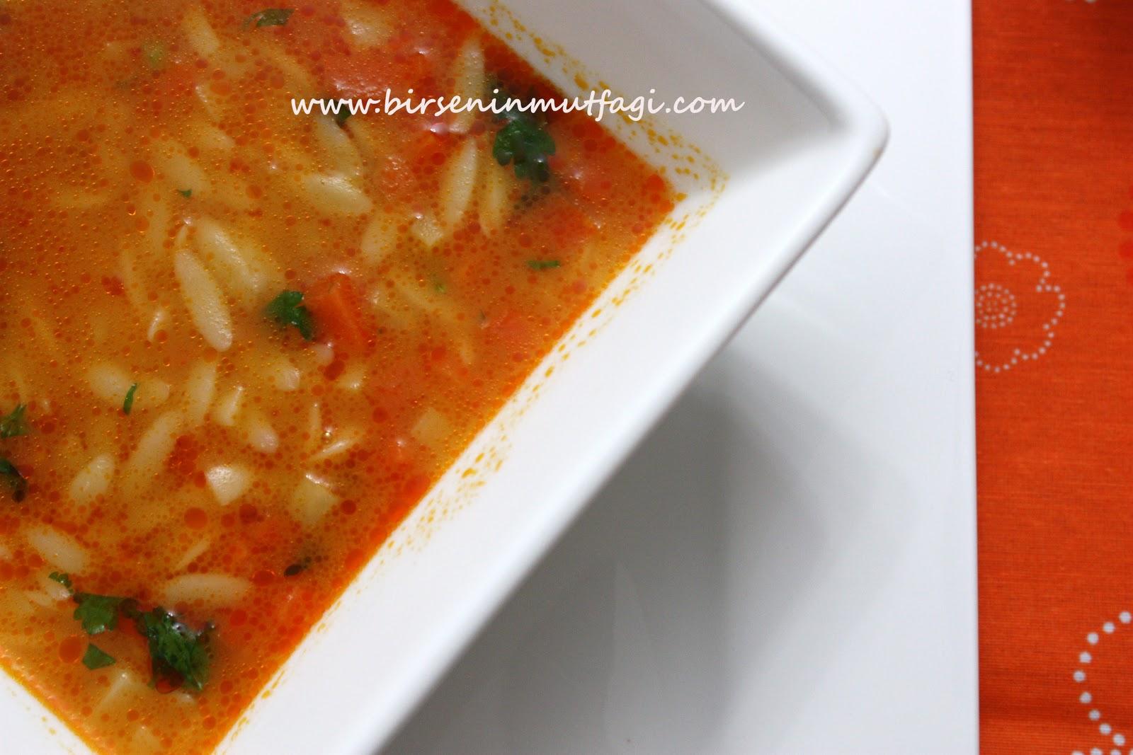 Şehriyeli Patates Çorbası Tarifi