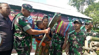 Satgas Yonif Raider 408/SBH Kembali membantu Masyarakat Perbatasan RI_RDTL
