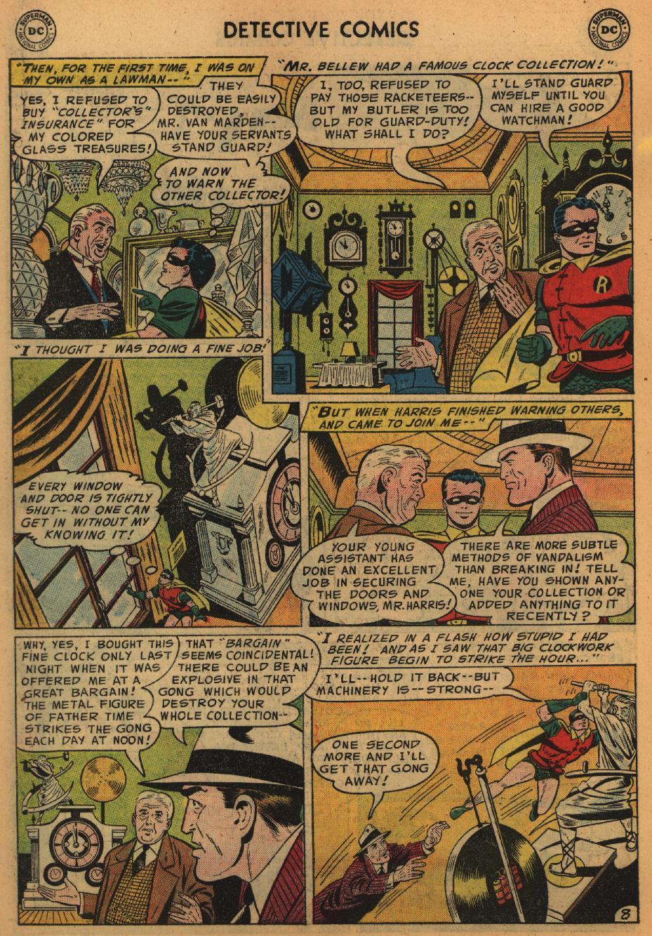 Read online Detective Comics (1937) comic -  Issue #226 - 10