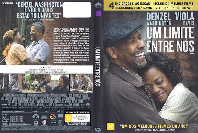 Capa DVD Um Limite Entre Nós (Oficial *)