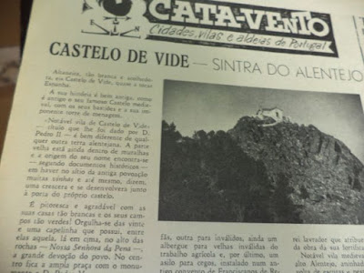 OLD PHOTOS / Jornal Cata-Vento (1960), Castelo de Vide, Portugal