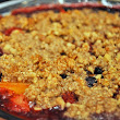 Grain-Free Fruit Crisp and Blog Beginnings