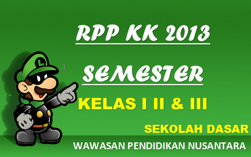 Terbaru Rpp Kurikulum 2013 Sekolah Dasar Lengkap Semua Kelas Semester 2 Wawasan Pendidikan