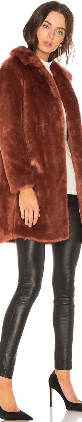 FAME FAUX FUR COAT