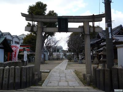 柴島神社鳥居