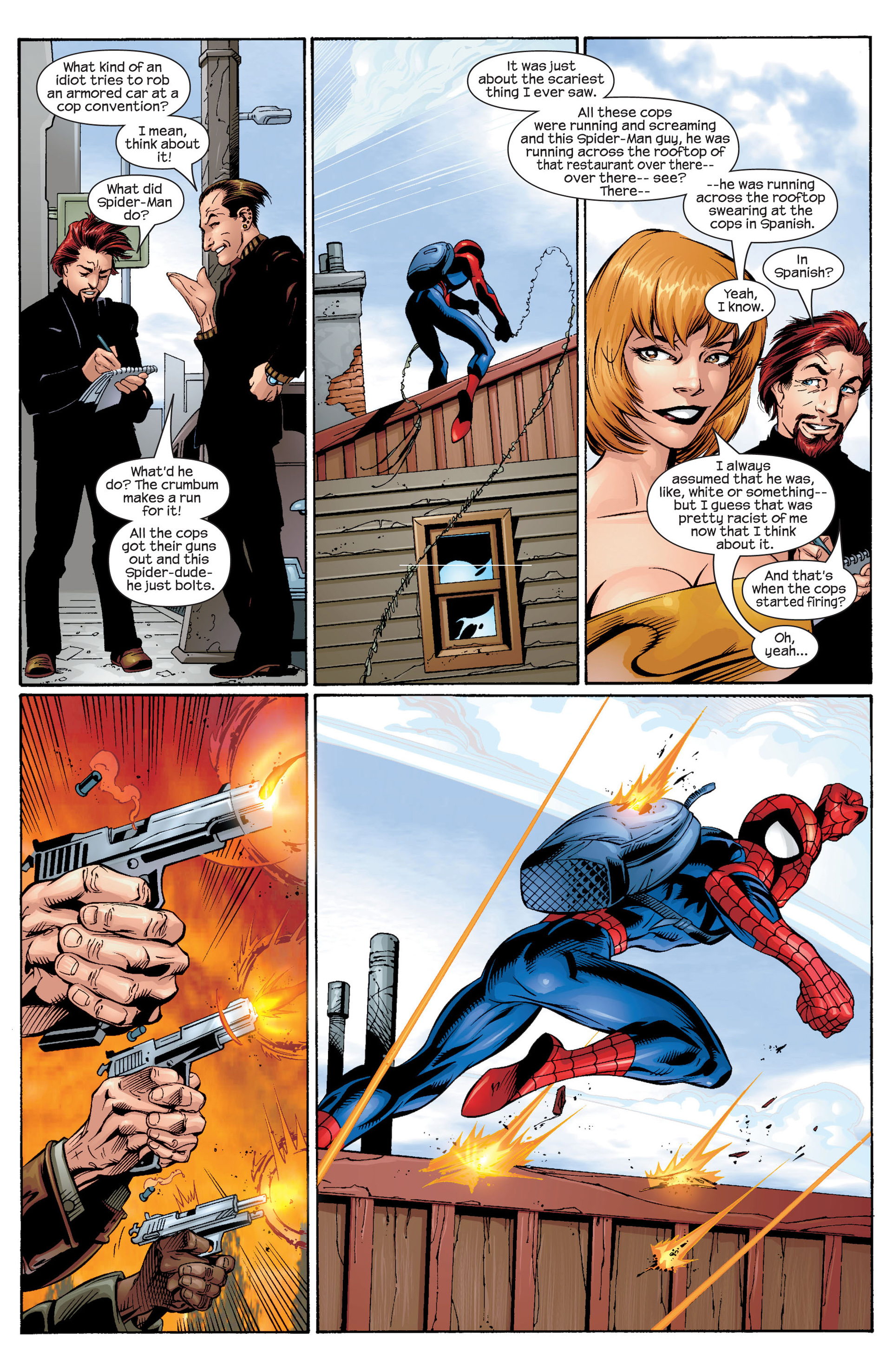 Read online Ultimate Spider-Man (2000) comic -  Issue #31 - 15