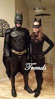 Disfraces para parejas de Batman y Gatubela