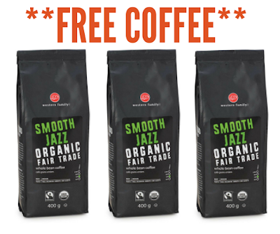 Get a voucher for a FREE 400g bag of Western Family Organic Whole Bean Coffee (Value $13.99)